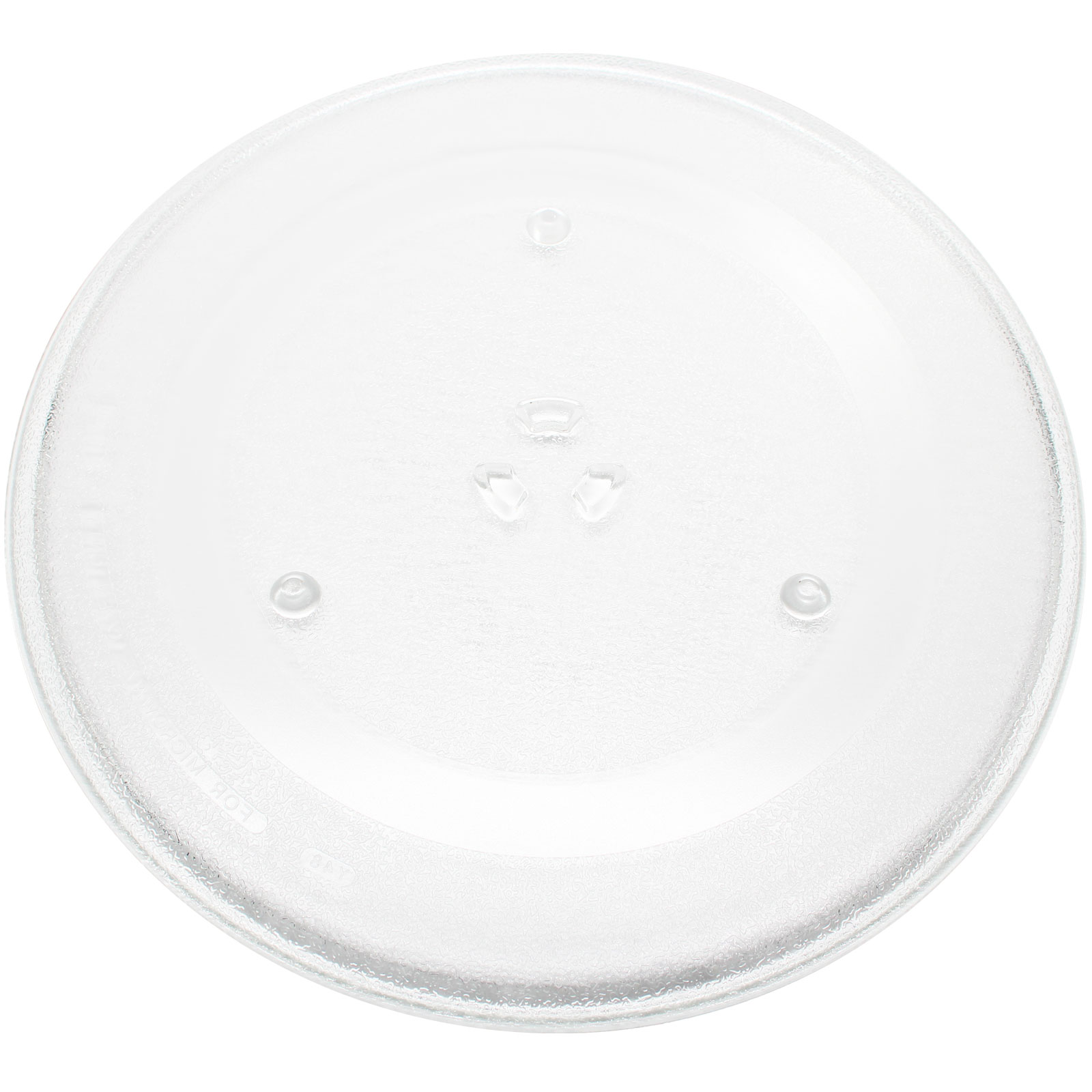 "Replacement Samsung MR6698WB Microwave Glass Plate - Compatible Samsung DE74-20002 Microwave Glass Turntable Tray - 14 1/8"" (359 mm) - image 1 of 4"