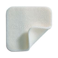 Molnlycke Mepilex Soft Silicone Absorbent Foam Dressing  4'' x 4'' , 1