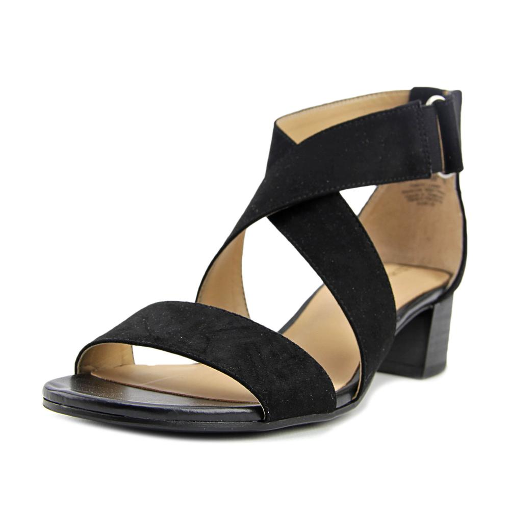 Naturalizer Adele Open Toe Canvas Sandals by Naturalizer