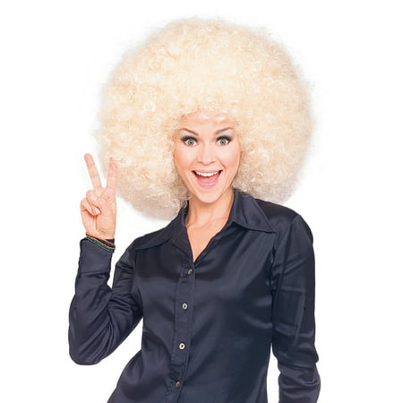 Afro Super wig - Blonde](Blonde Halloween Ideas)
