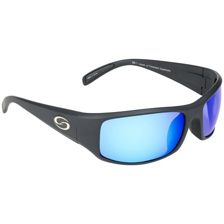 StrikeKing S11 Okeechobee Sunglasses Matte-Blk (Matte White Sunglasses)