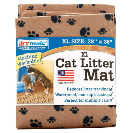 Drymate, Cat Litter Mat, Extra Large, Tan Paw](Cat Paws Tattoo)