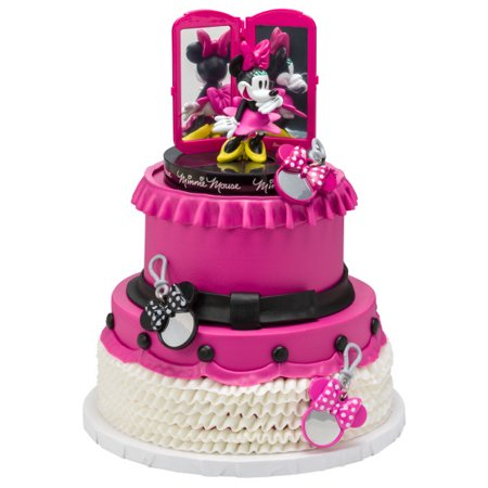 Minnie Mouse Bags Bows Shoes Signature Cake Topper