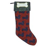 Dog Lovers Corgi Christmas Stocking