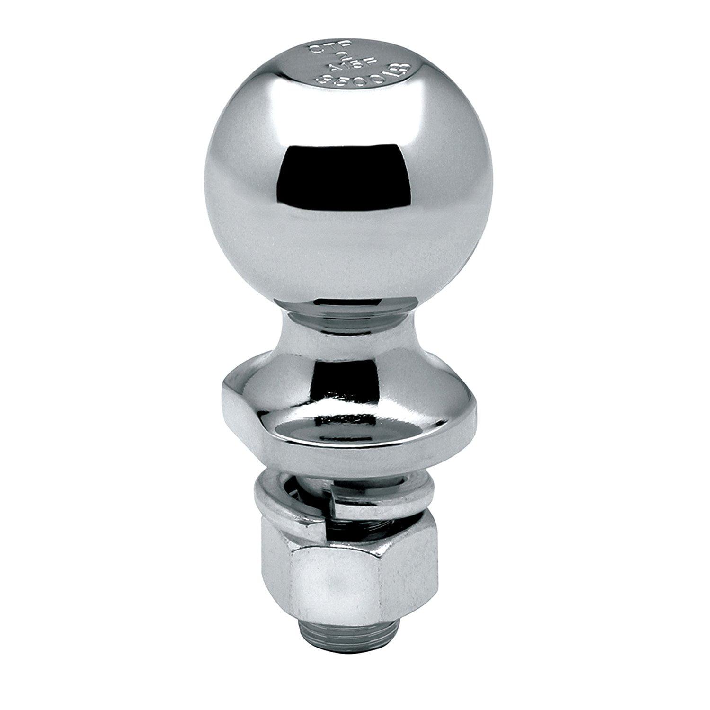 Reese 63820 Tow Ready Chrome Hitch Ball 3,500 lbs. 2 x 3//4 x 1-1//2