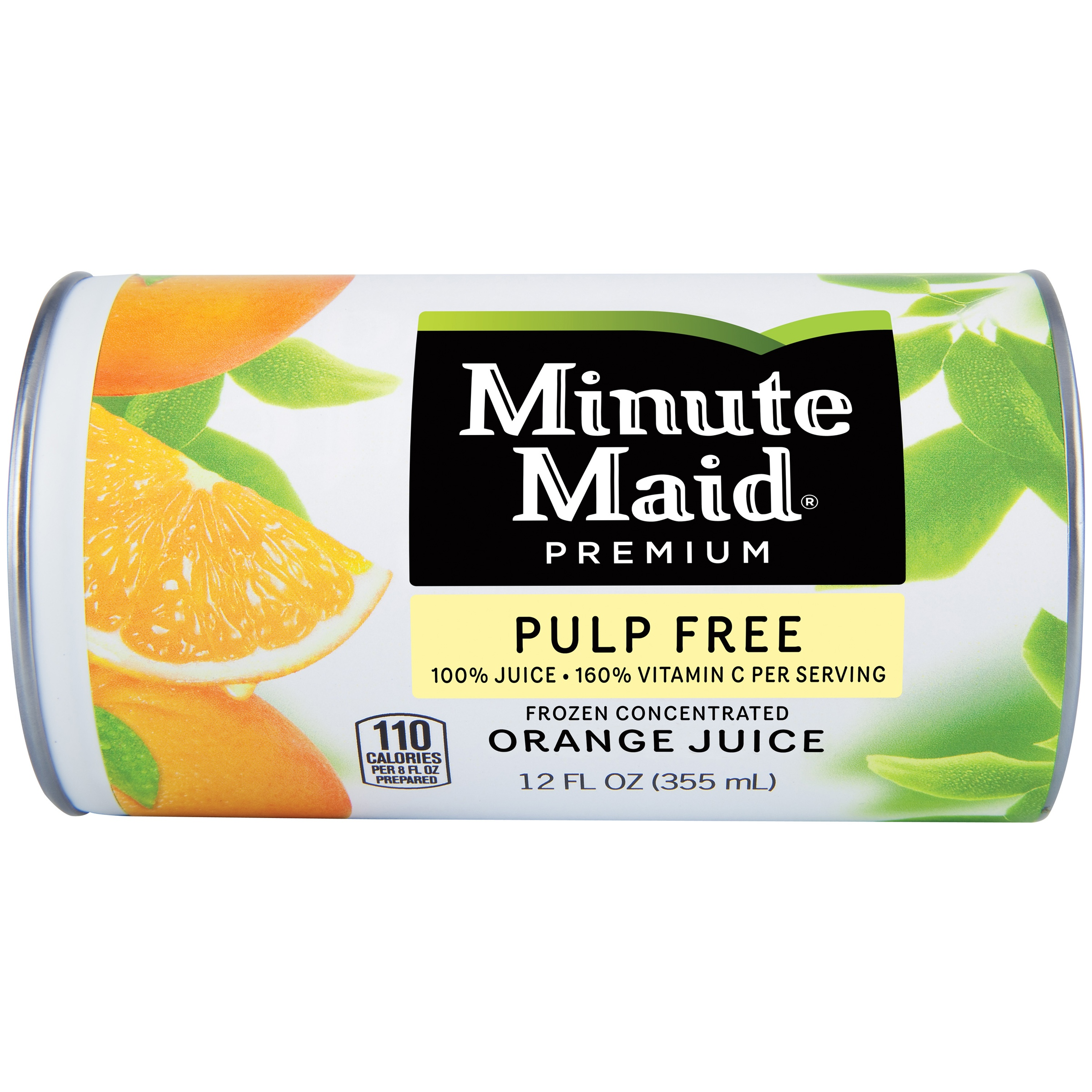 Minute Maid® Premium Pulp Free Orange Juice Frozen Concentrated 12 fl. oz. Can