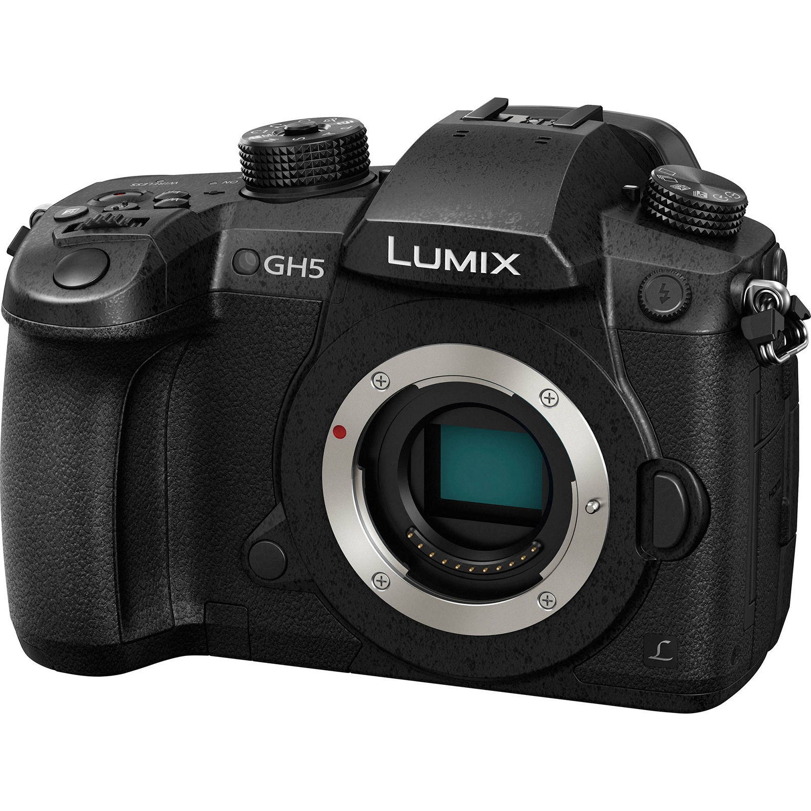 Panasonic Lumix DC-GH5 Wi-Fi 4K Digital Camera Body
