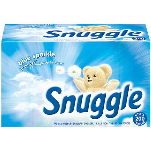 Snuggle: Blue Sparkle W/Cuddle-Up Fresh Fabric Softener Dryer Sheets, 200 ct