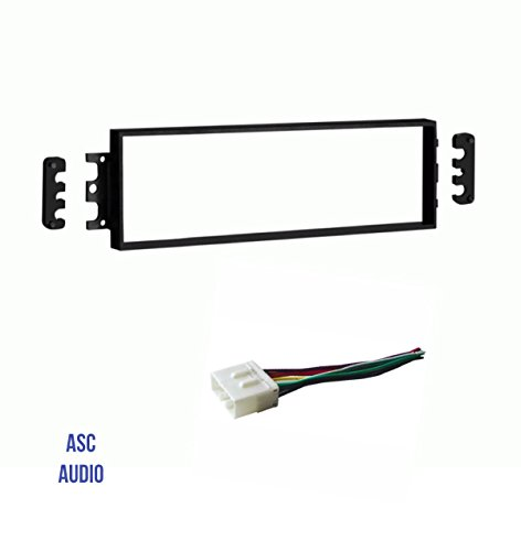 ASC Car Stereo Radio Dash Install Kit and Wire Harness for