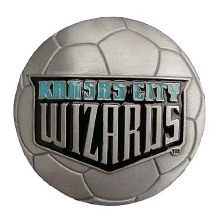 Kansas City Wizards Logo Novelty Belt Buckle (Best Burnt Ends In Kansas City)