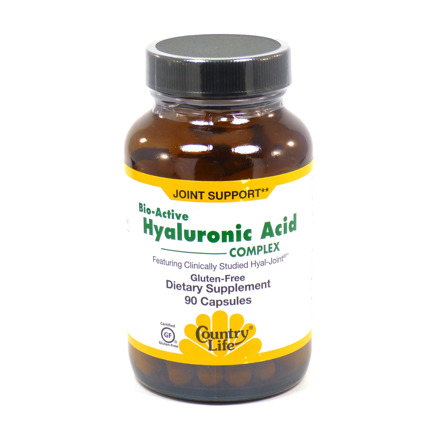 Country Life Hyaluronic Acid Complex, 90 Ct