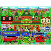Mountain Rail Holiday by Mark Frost 1000 Piece Puzzle