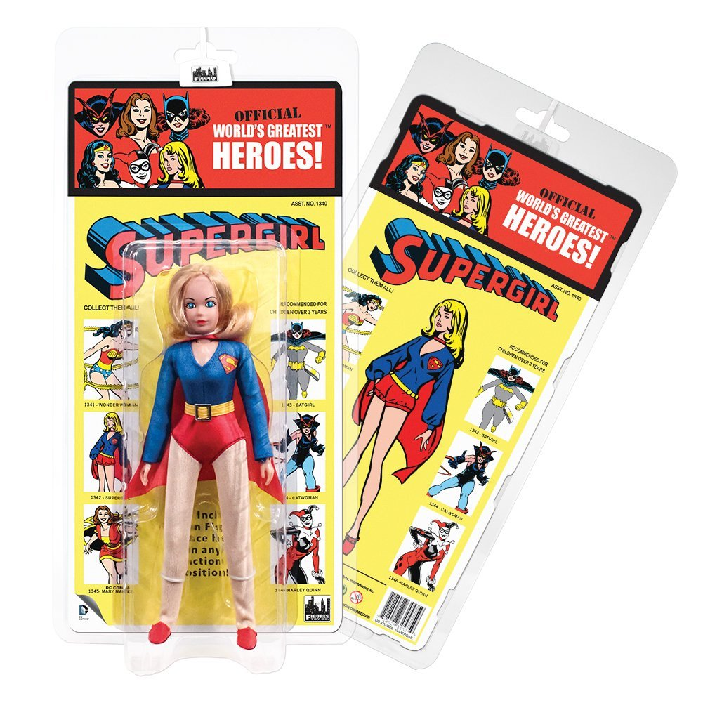 DC Comics Retro Kresge Style Action Figures Series 2: Super Girl