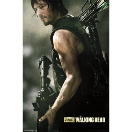 Walking Dead - Daryl Bow Poster Print (Walking Dead Decorations)