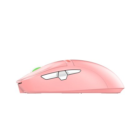 Ajazz i305Pro 2.4G Wireless Type-C Wired Dual Mode Mouse 16000DPI 8 keys Ergonomic Design Mouse for Laptop PC Pink - image 4 of 7