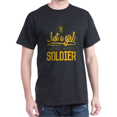 Army Girl In Love - 100% Cotton T-Shirt - Army Girl