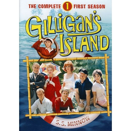 GILLIGANS ISLAND-COMPLETE 1ST SEASON (DVD/6 DISC/FF-4X3/REPKGD)