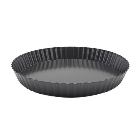1PCS Non-Stick Removable Loose Bottom Quiche Tart Pan Round Pie Pizza Pan with Removable Base (Halloween Quiche Ideas)