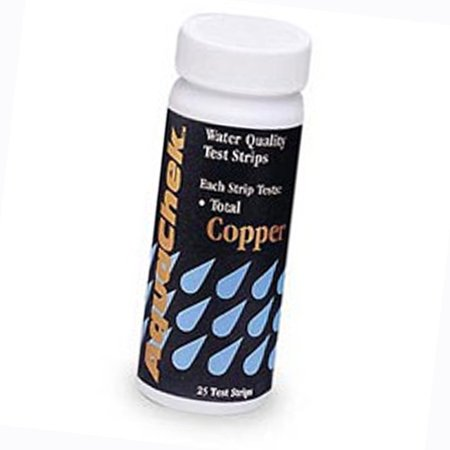 AquaChek Copper Pool Water Test Strips - (25 Count)