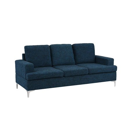 Two Seat Upholstered Sofa (Upholstered 77.9