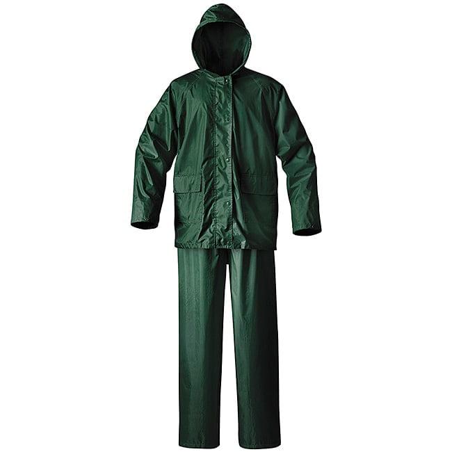 Raider 51-100G-L Mens Simplex Rainsuit Hunter Green Large
