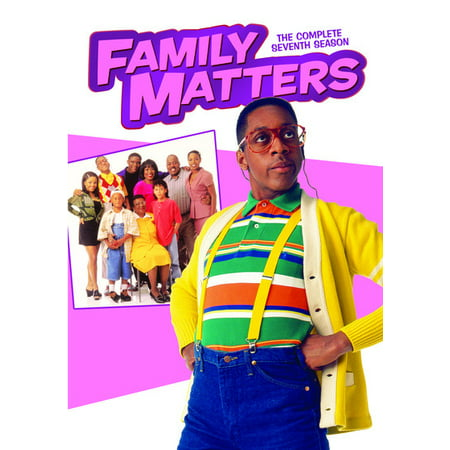 Family Matters: The Complete Seventh Season (DVD)](Family Matters Halloween Episode)