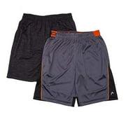 Head Boys Youth 2 Pack Shorts (Grey, Medium 10/12)