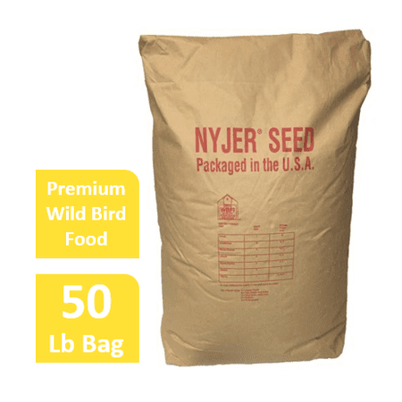 Bird Seed Bag - Wagner's Nyjer/Thistle Seed Wild Bird Food, 50 LB