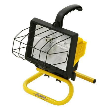 Designers Edge L20 Portable Handheld Work Light, Yellow, -