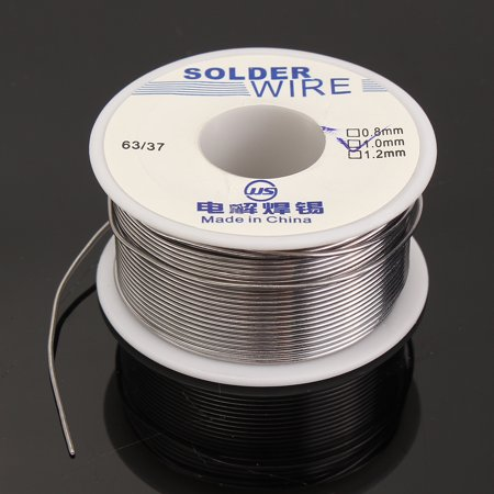 0.8mm 100g 1.0mm 50g 1.0mm 100g 1.2mm 100g 1.8mm 100g 2.0mm 200g 63/37 Tin lead Rosin Core Solder Wire Soldering Welding Flux 2% ()