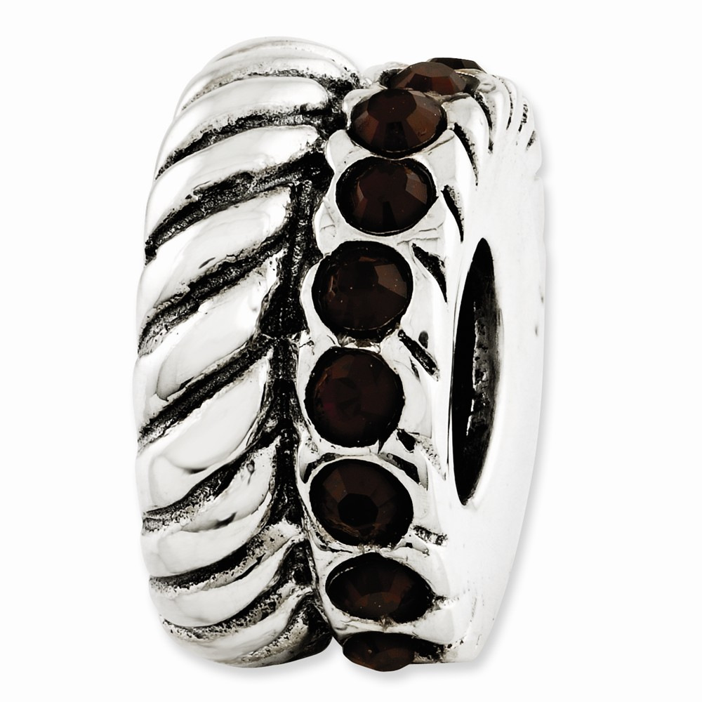 Sterling Silver January Elements Bead