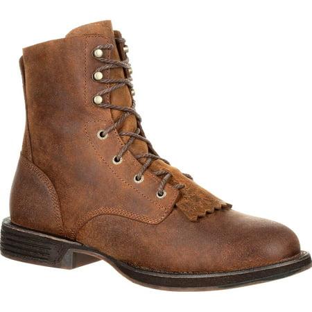 Work Utility Steel Toe Boot (Rocky Men's Brown Renegade Steel Toe Waterproof Lacer Western Boot RKW0224)