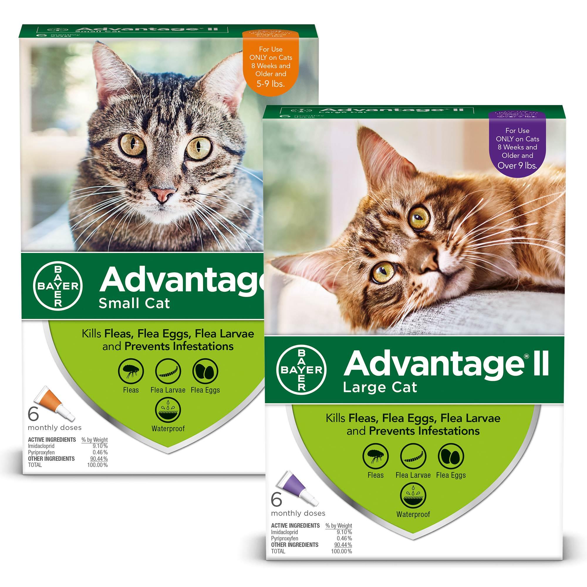 Advantage II Cat Flea & Tick Discount 2 Pack Bundle (10% Off)