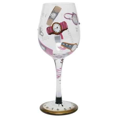 Lolita from Enesco Love My Wine Glass, 5 O'clock Somewhere