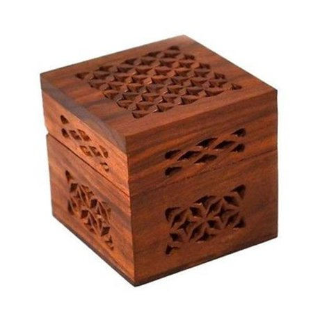 Matr Boomie - B Handmade Small Lattice Cutwork Wood Box