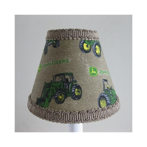 Silly Bear Lighting Deere 11'' Fabric Empire Lampshade by Silly Bear Lighting