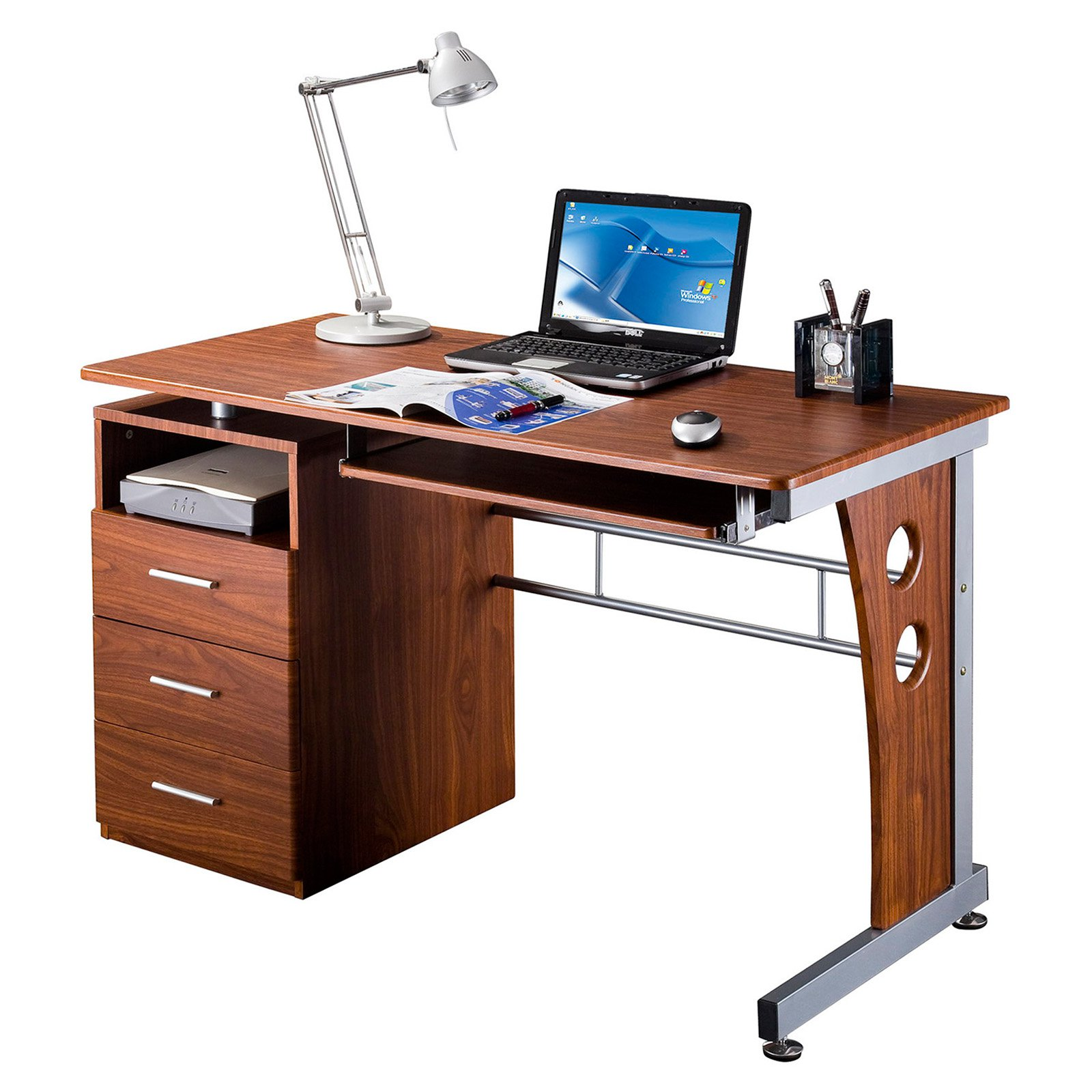 Techni Mobili RTA-3520 Computer Desk with Storage