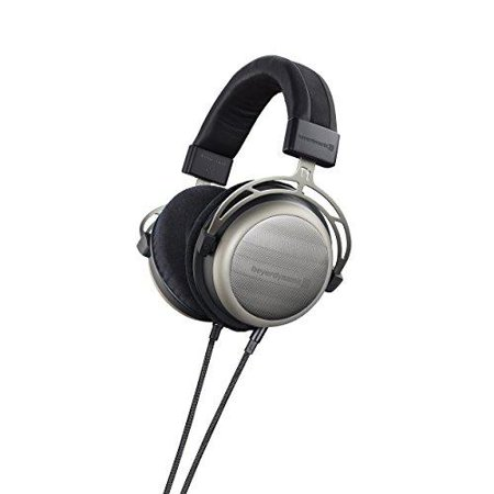 beyerdynamic T1 2nd Generation Audiophile Stereo Headphones with Dynamic Semi-Open Design (Silver)