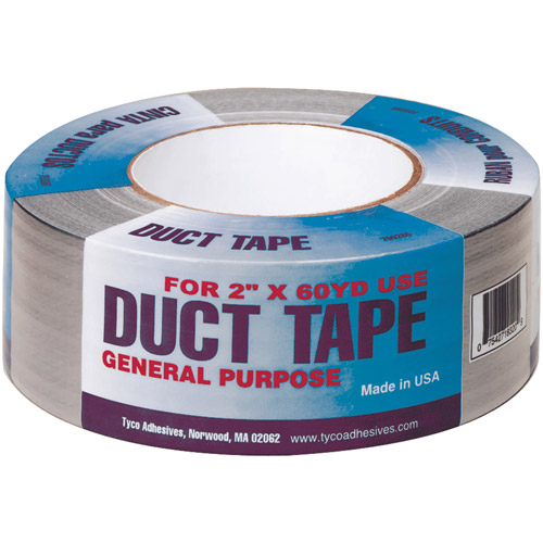 Tyco Adhesives 700184 Duct Tape, 55 yd