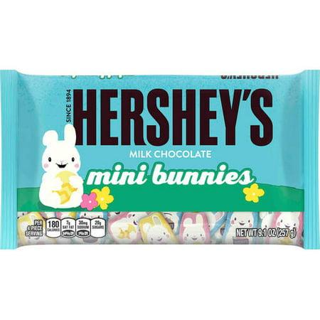 Hershey's Milk Chocolate Mini Bunnies, 9.1 Oz.