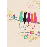 Cats Birthday Greeting Card (Other)
