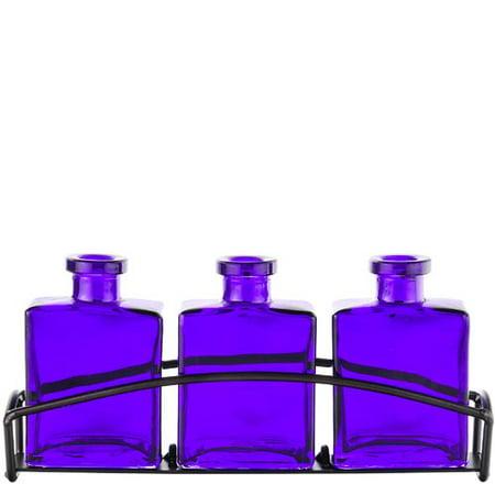- Couronne Rio 3 Piece Glass Table Vase Set