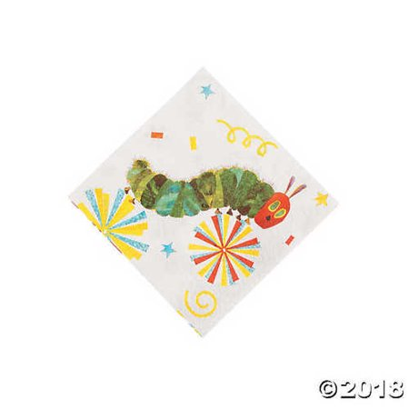 The Very Hungry Caterpillar? Beverage Napkins - Very Hungry Caterpillar Party Decorations