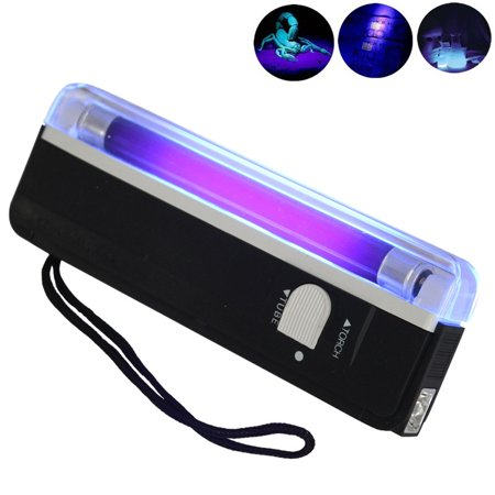 Iuhan Handheld UV Black Light Torch Portable Blacklight With - Hand Held Led Light