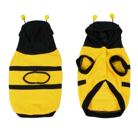 Costume Party Xmas Bee Style Dog Puppy Hoodie Coat Clothes - Dog Costumes For Christmas
