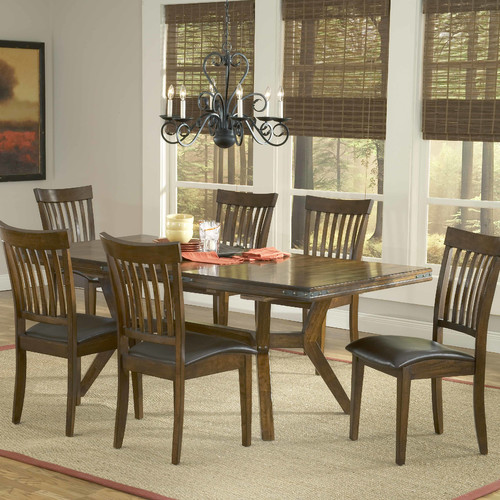 Hillsdale Furniture Arbor Hill 7 Piece Dining Room Set by Hillsdale
