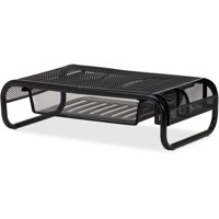 Lorell, LLR84148, Mesh Wire Monitor Stand, 1 Each, Black