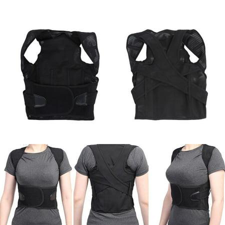 Waist Support Belt,YMIKO 6 Sizes Adjustable Adult Children Back Waist Lumbar Shoulder Support Posture Correction Belt,Shoulder Support (Belt Size Waist Size)