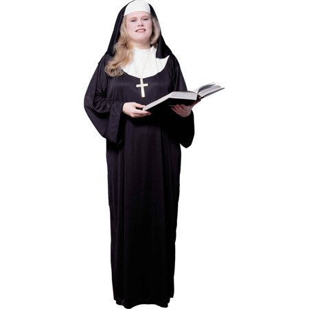 Adult's Womens Religious Church Nun Sister Costume X-Large Plus Size 16-22