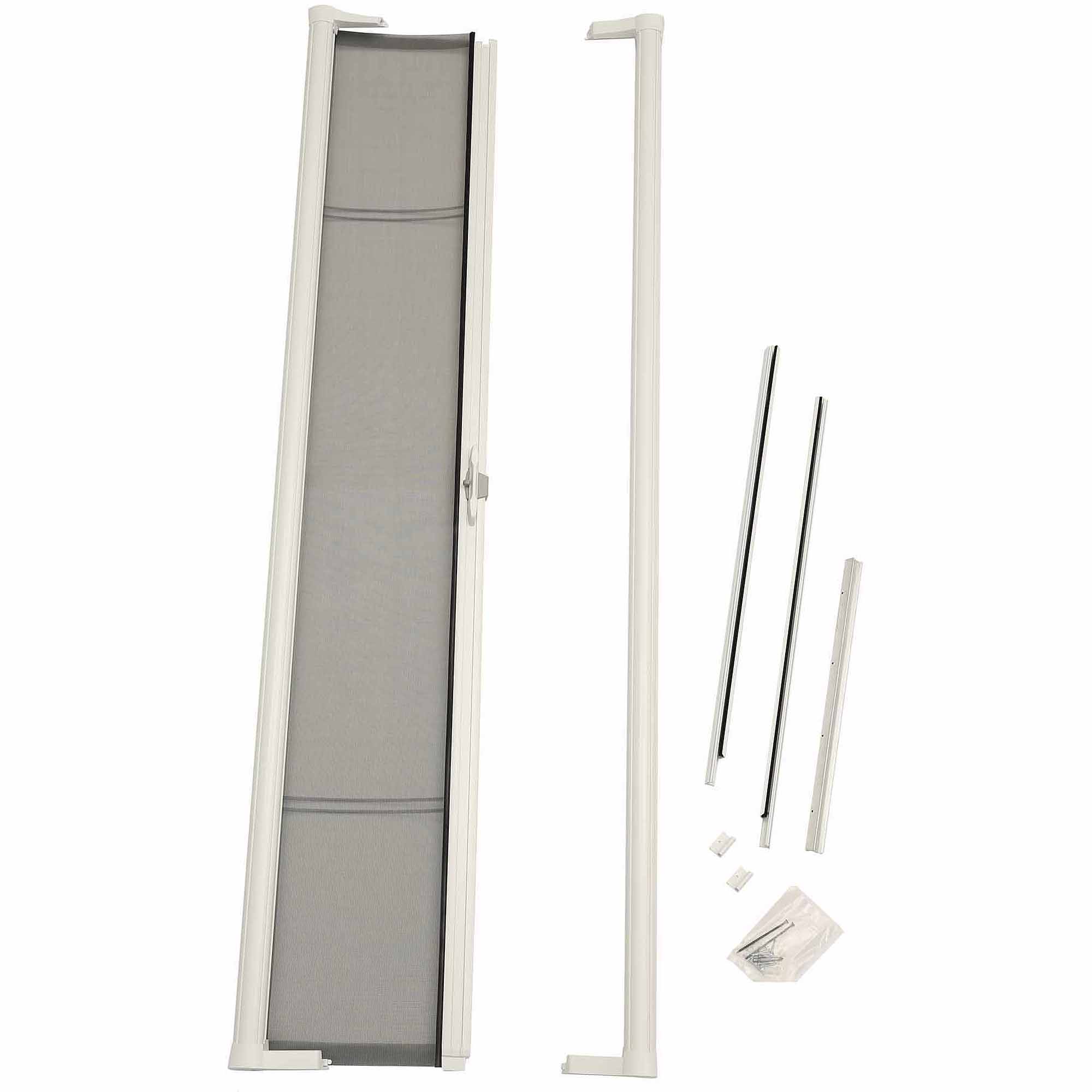"ODL Brisa White Sliding Retractable Screen for Sliding 78"" Doors"